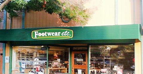 Los Altos California Footwear etc. Location