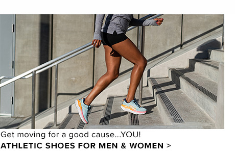 Get moving for a good cause: YOU! - Shop Athletics