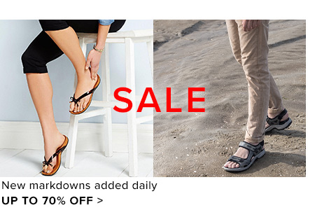 Up to 70% off - Shop Sale
