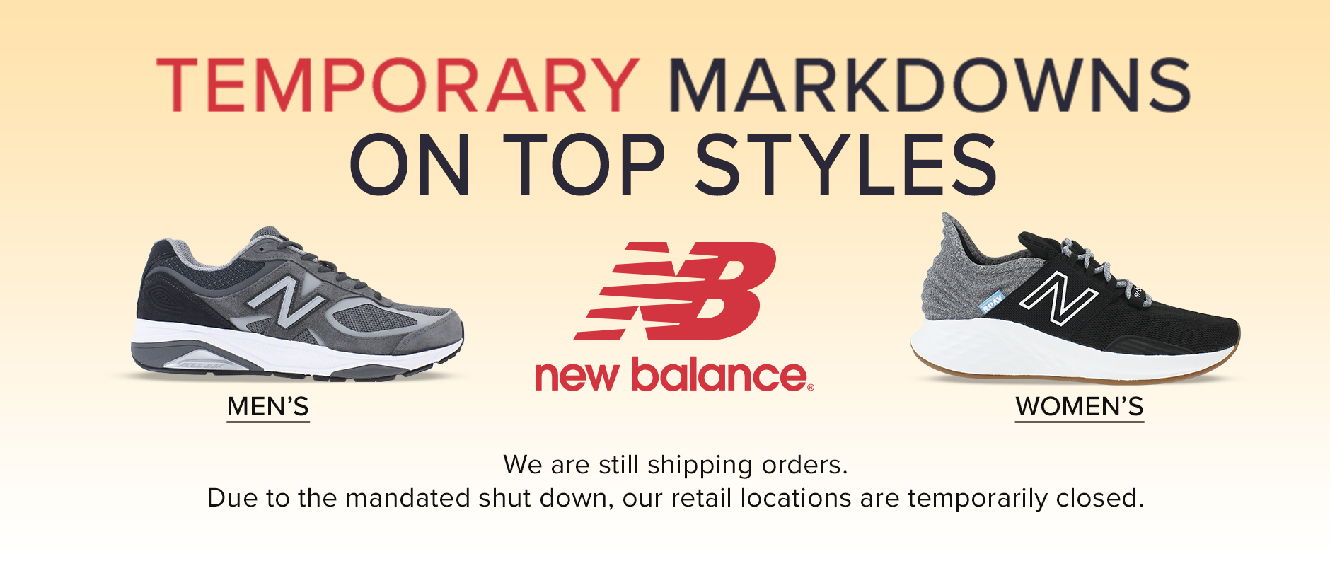 New Balance Markdowns