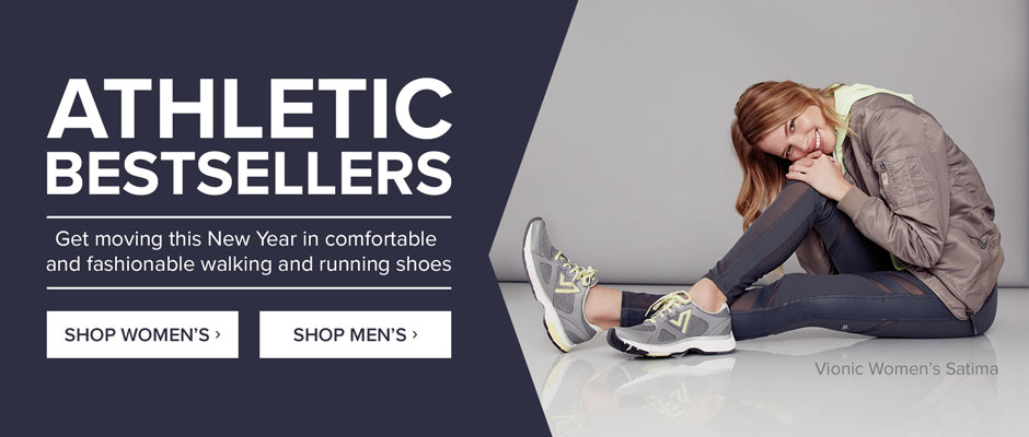 Athletic Bestsellers: Get moving in walking and running shoes