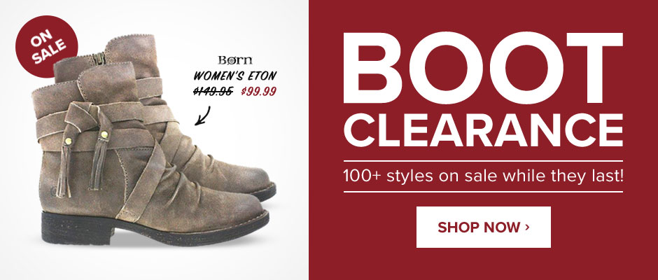 Boot Clearance: 100+ Styles on Sale While They Last!