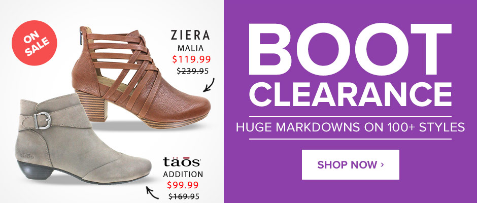 Boot Clearance: Huge Markdowns on 100+ Styles