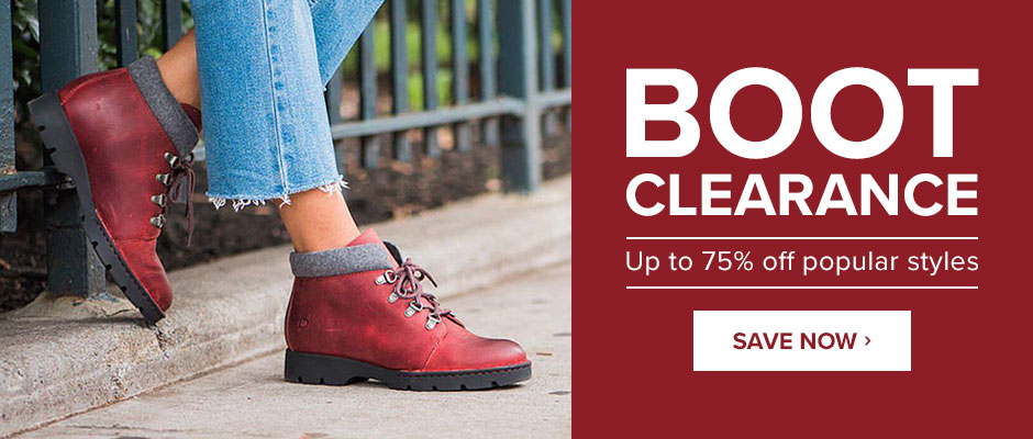 Boot Clearance: Up to 75% off popular styles