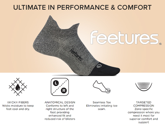 Feetures: Ultimate in Performance and Comfort