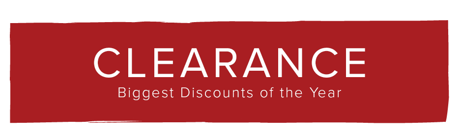 Clearance: Biggest Deals of the Year
