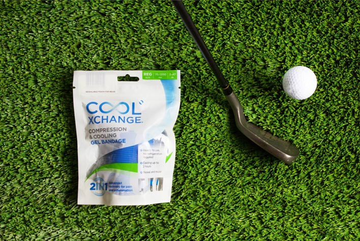 Cool Xchange Compression and Cooling Gel Bandage • $29.95