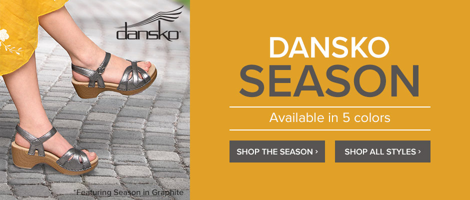 Dansko Season: Available in 5 Colors