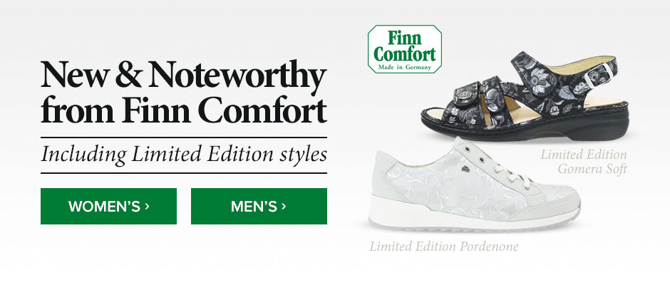 New and Noteworthy from Finn Comfort