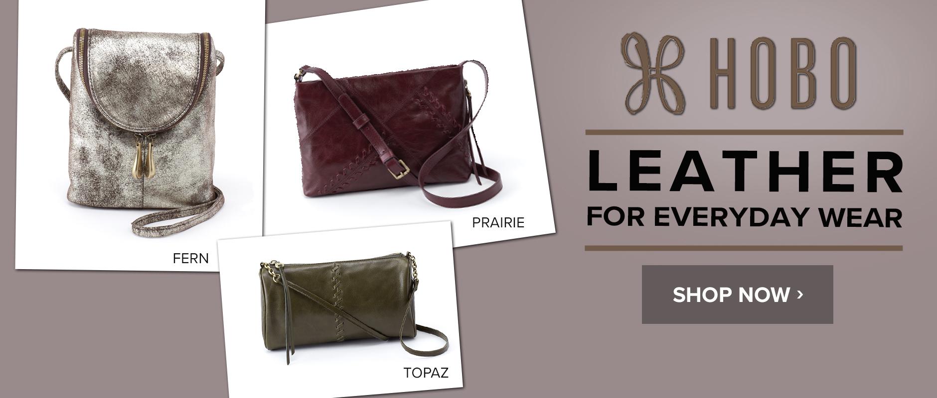 Hobo Handbags: Leather to Love