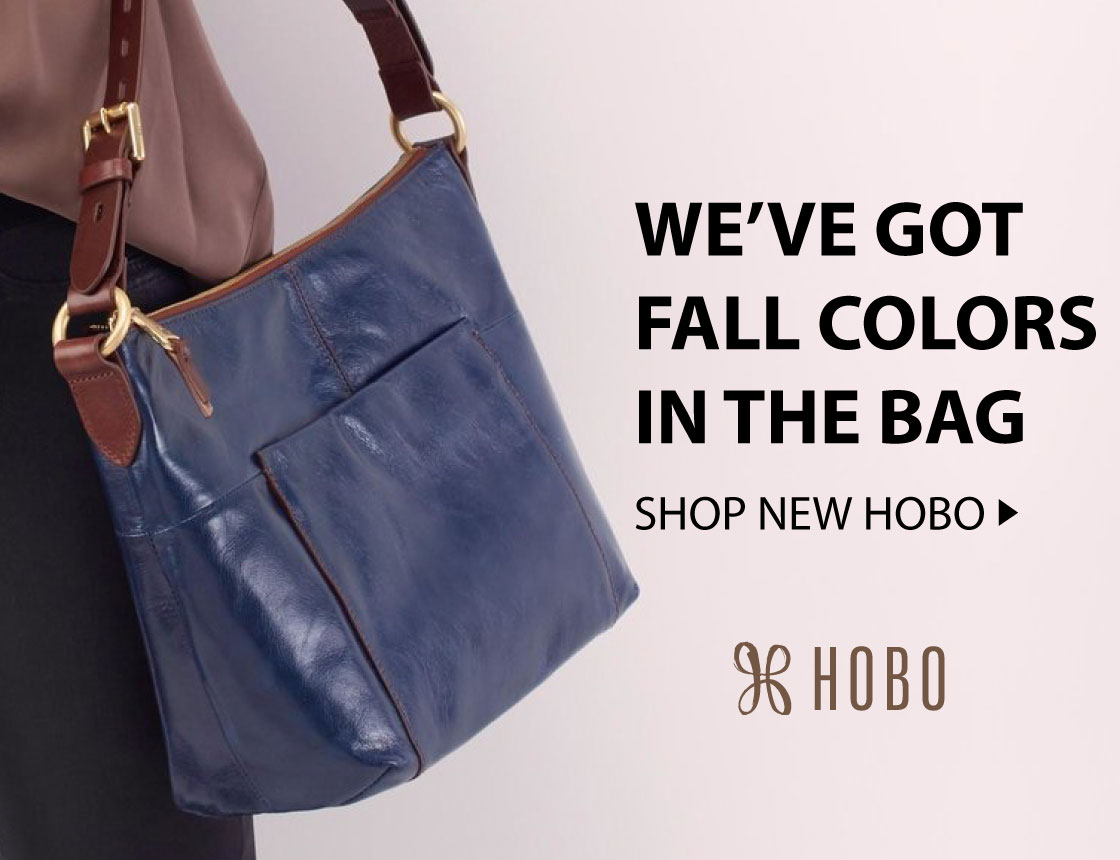 Hobo International: We've got fall colors in the bag