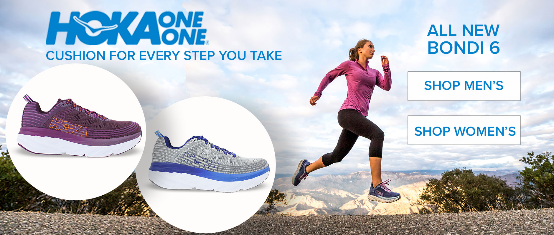 Hoka Bondi 6: Cushion for every step of the way