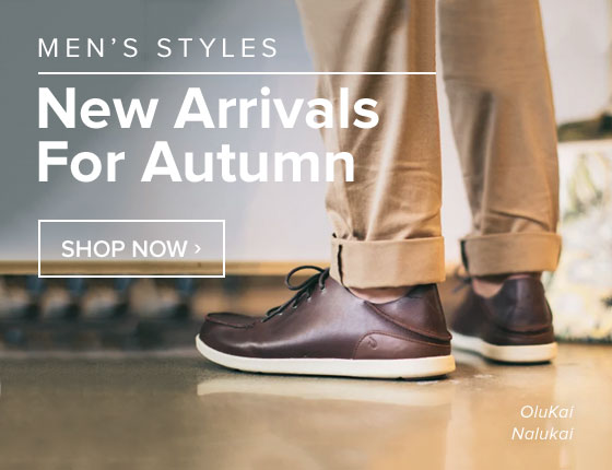 Men's New Arrivals for Autumn
