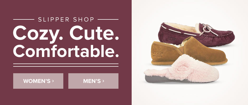 Slipper Shop: Cozy. Cute. Comfortable.