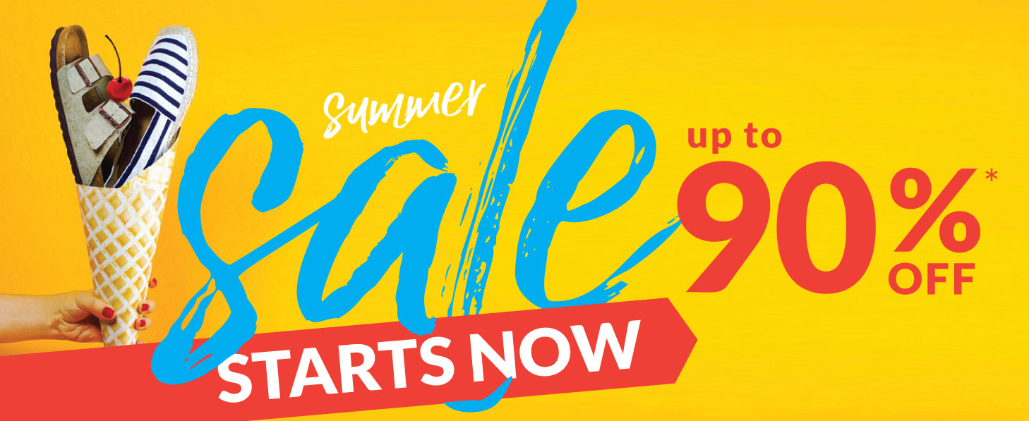 Summer Sale: Up to 90% Off Clearance