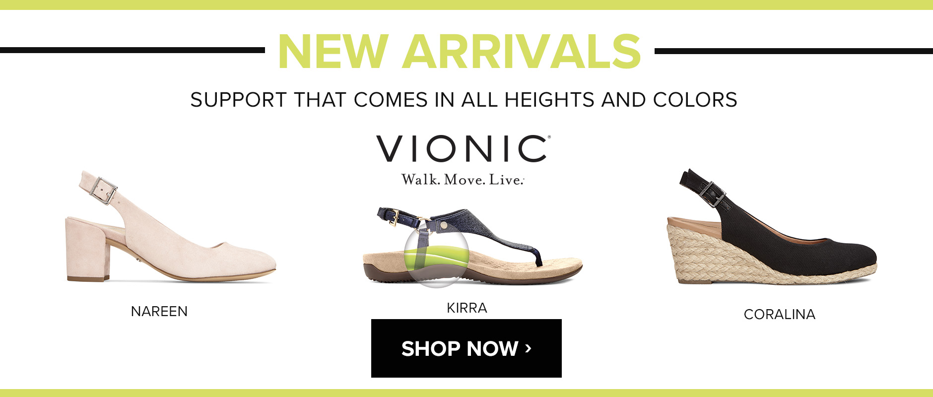 New from Vionic